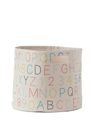 Pehr Designs Alphabet Bin - Product Mini Image