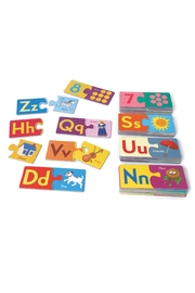 Eeboo Alphabet & Numbers - Front full body