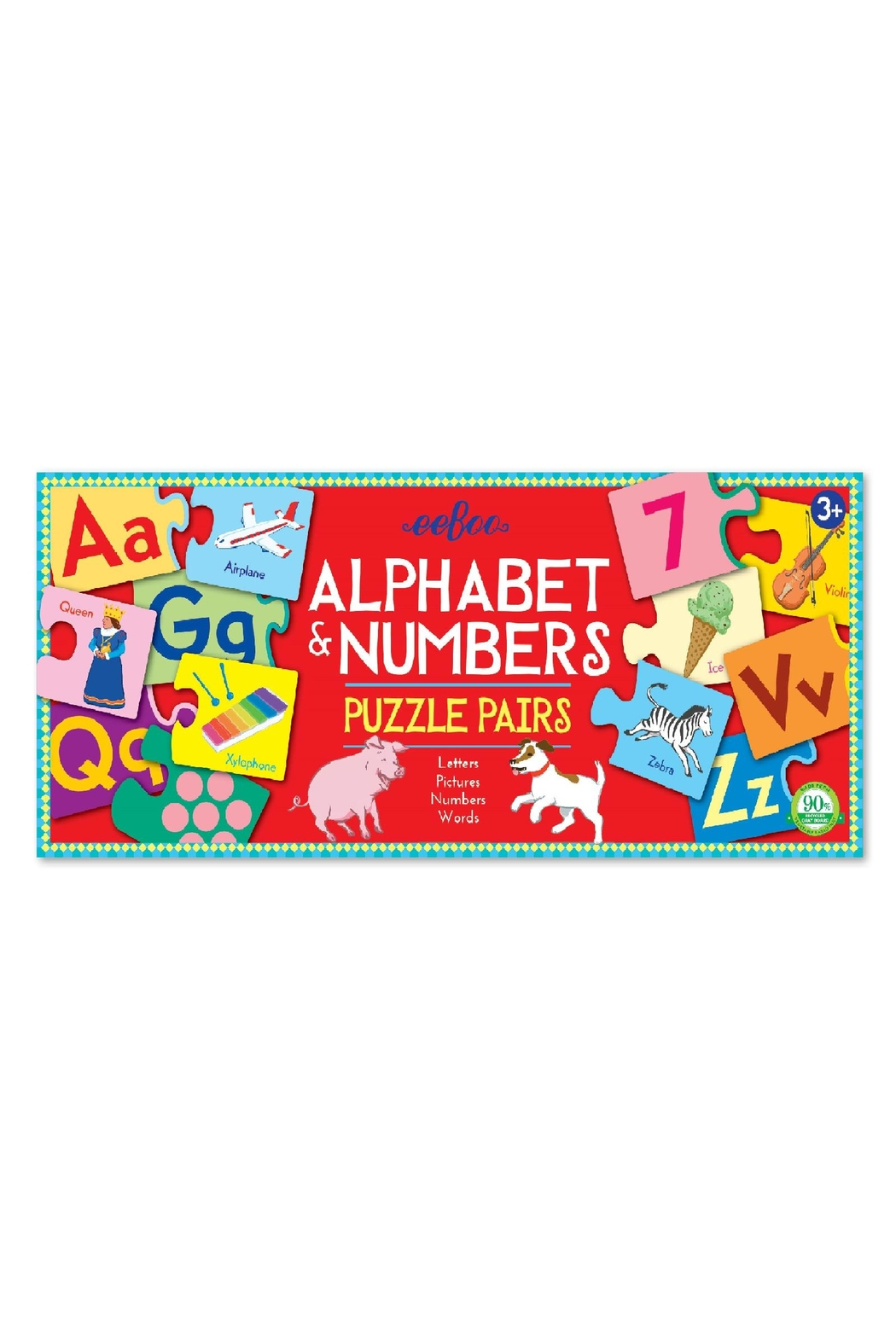Eeboo Alphabet & Numbers - Main Image