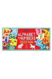 Eeboo Alphabet & Numbers - Front cropped