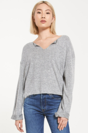 z supply Alpine Marled Pullover - Product Mini Image