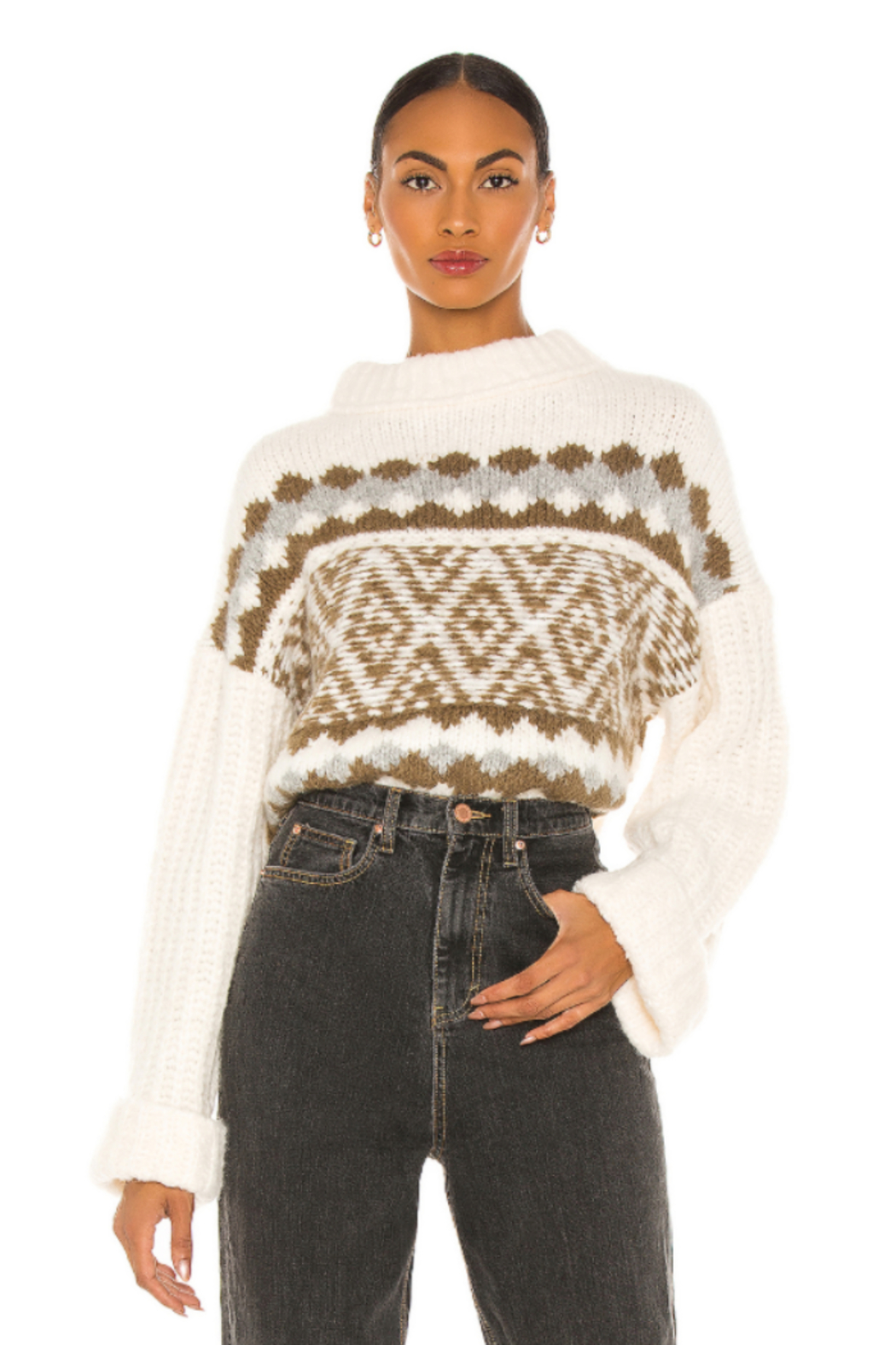 Free People  Alpine Pullover - Front Cropped Image