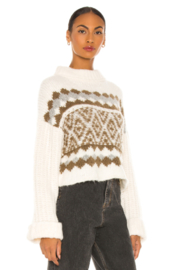 Free People  Alpine Pullover - Front full body