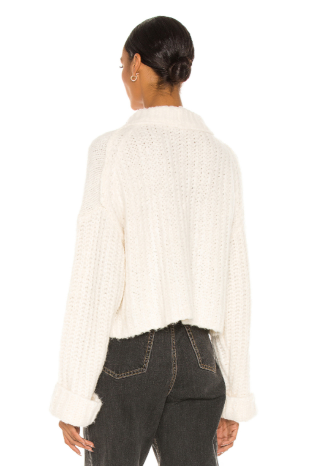 Free People  Alpine Pullover - Back Cropped Image