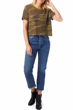 Alternative Apparel Camno Cropped Tee - Product List Image