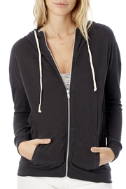 Alternative Apparel Cool Down Zip Hoodie - Front cropped