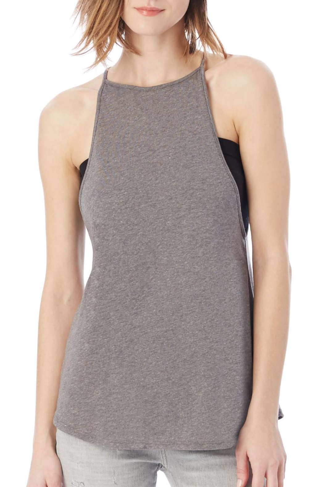 Alternative Apparel Vip Jersey Tank - Front Cropped Image