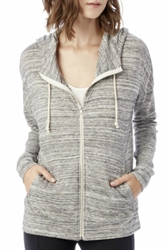 Shoptiques Product: Zip Up Hoodie Sweater