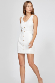 Greylin Althea Button Up Dress - Front full body