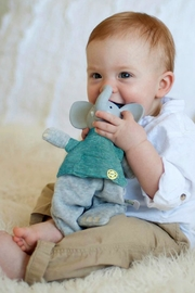 Creative Education of Canada Alvin-The-Elephant Toy Rattle - Front cropped