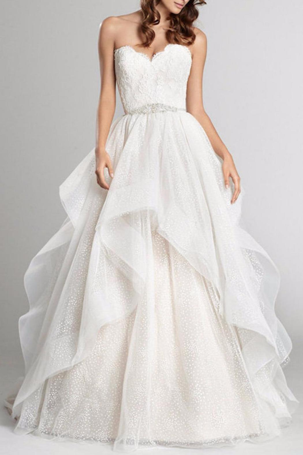 Alvina Valenta Horsehair Ball Gown From Texas By Beatitude Bridal