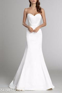 Alvina Valenta Sleek Strapless Gown - Product List Image