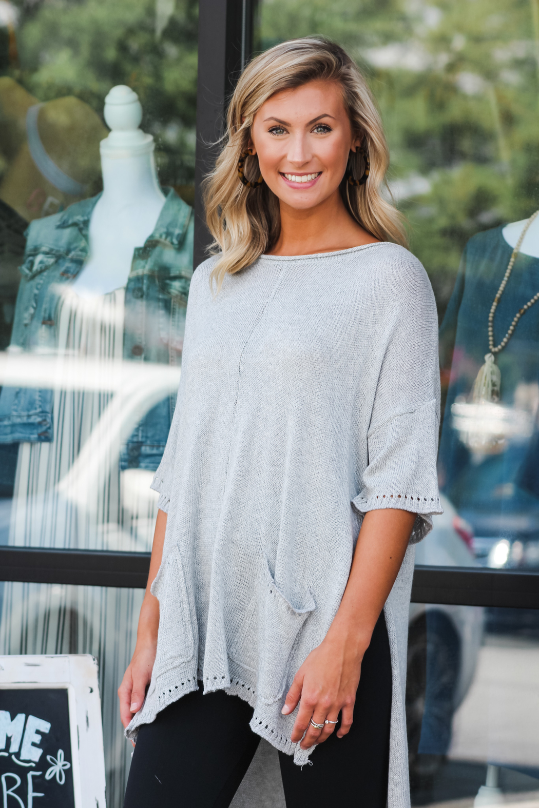 L Love Always Comfy Top - Front Full Image