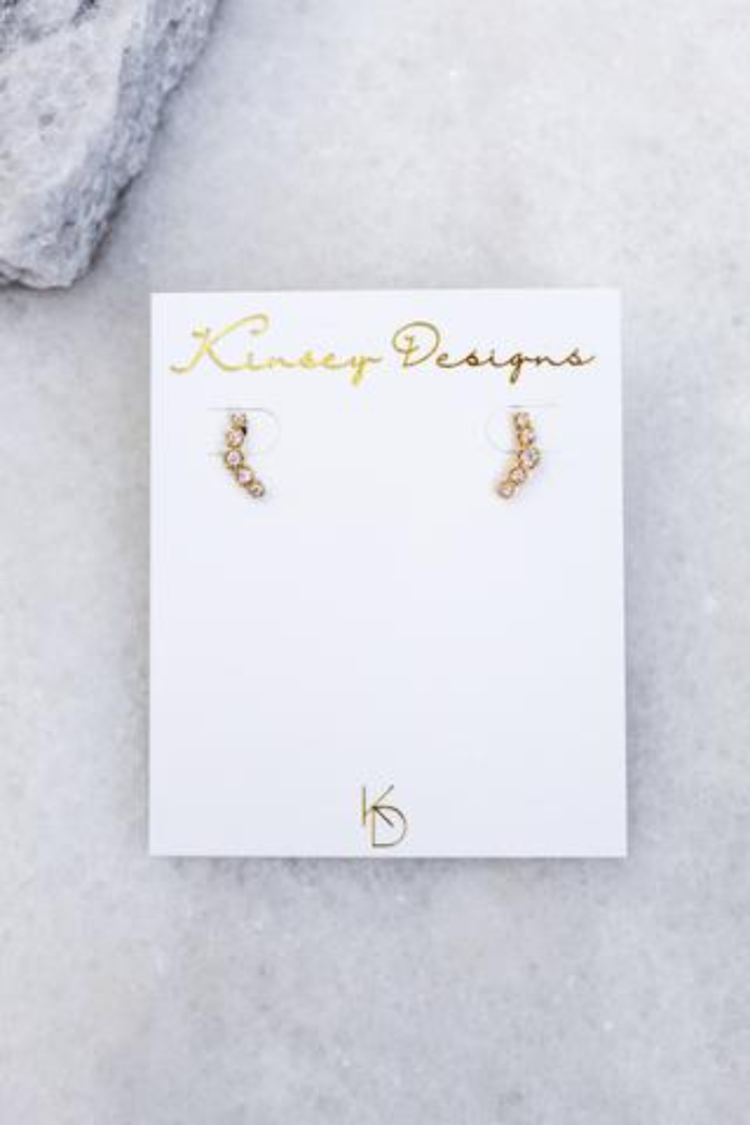 Kinsey Designs Always CZ Stud - Front Cropped Image