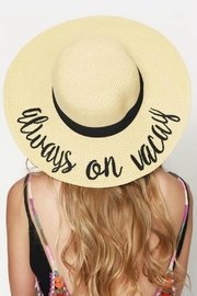 Natasha Couture Fashion Always On Vacay-Hat - Product Mini Image
