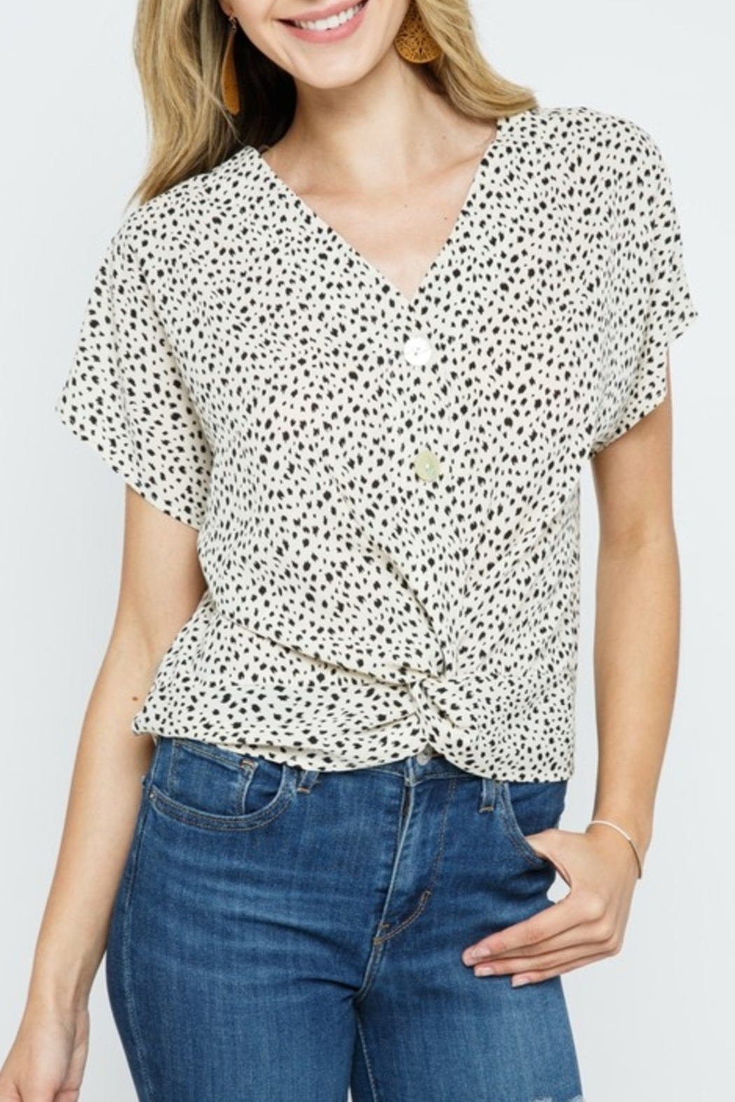 Cozy Casual  Always Stylish Top - Front Cropped Image