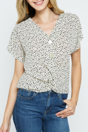 Cozy Casual  Always Stylish Top - Front cropped
