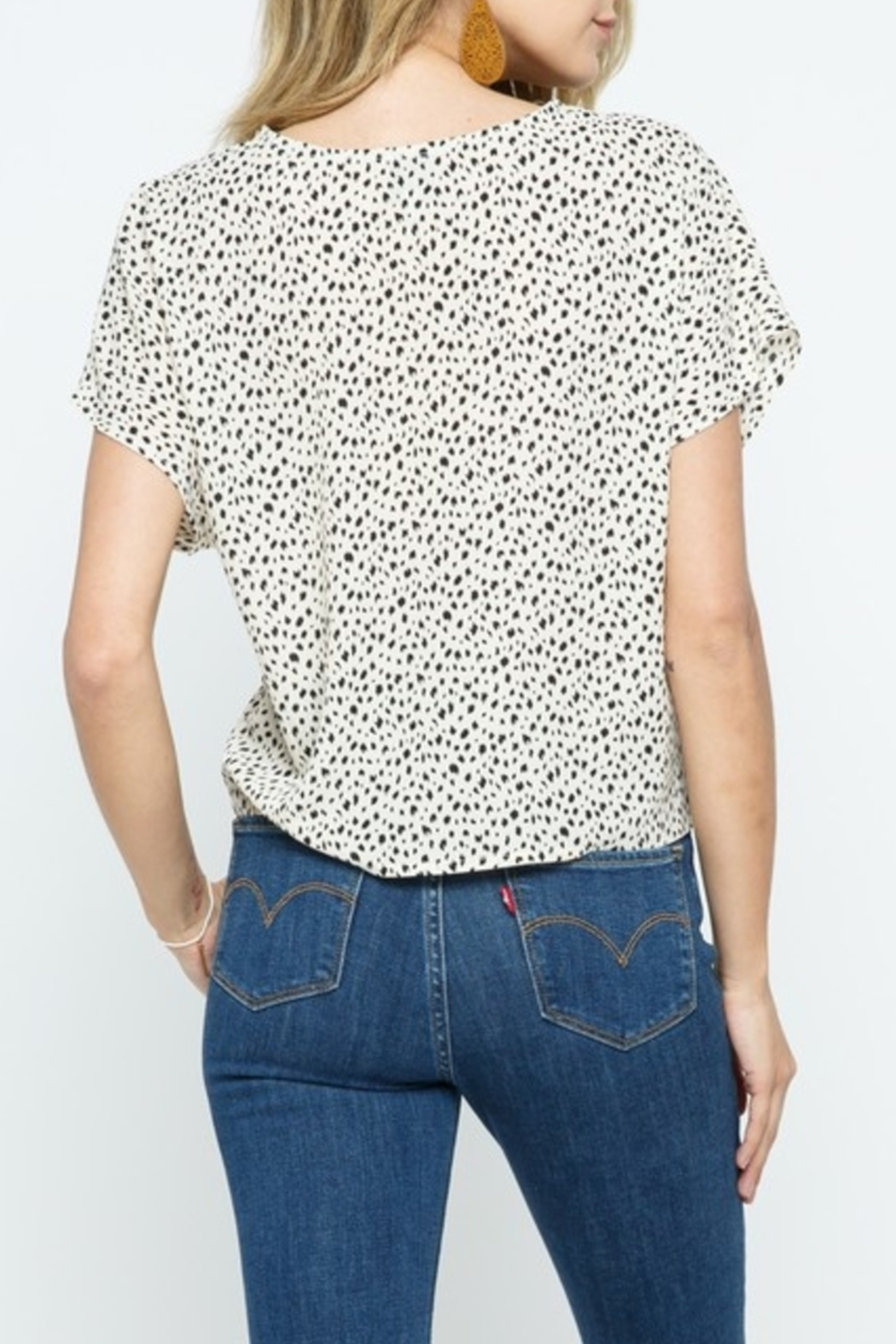 Cozy Casual  Always Stylish Top - Front Full Image