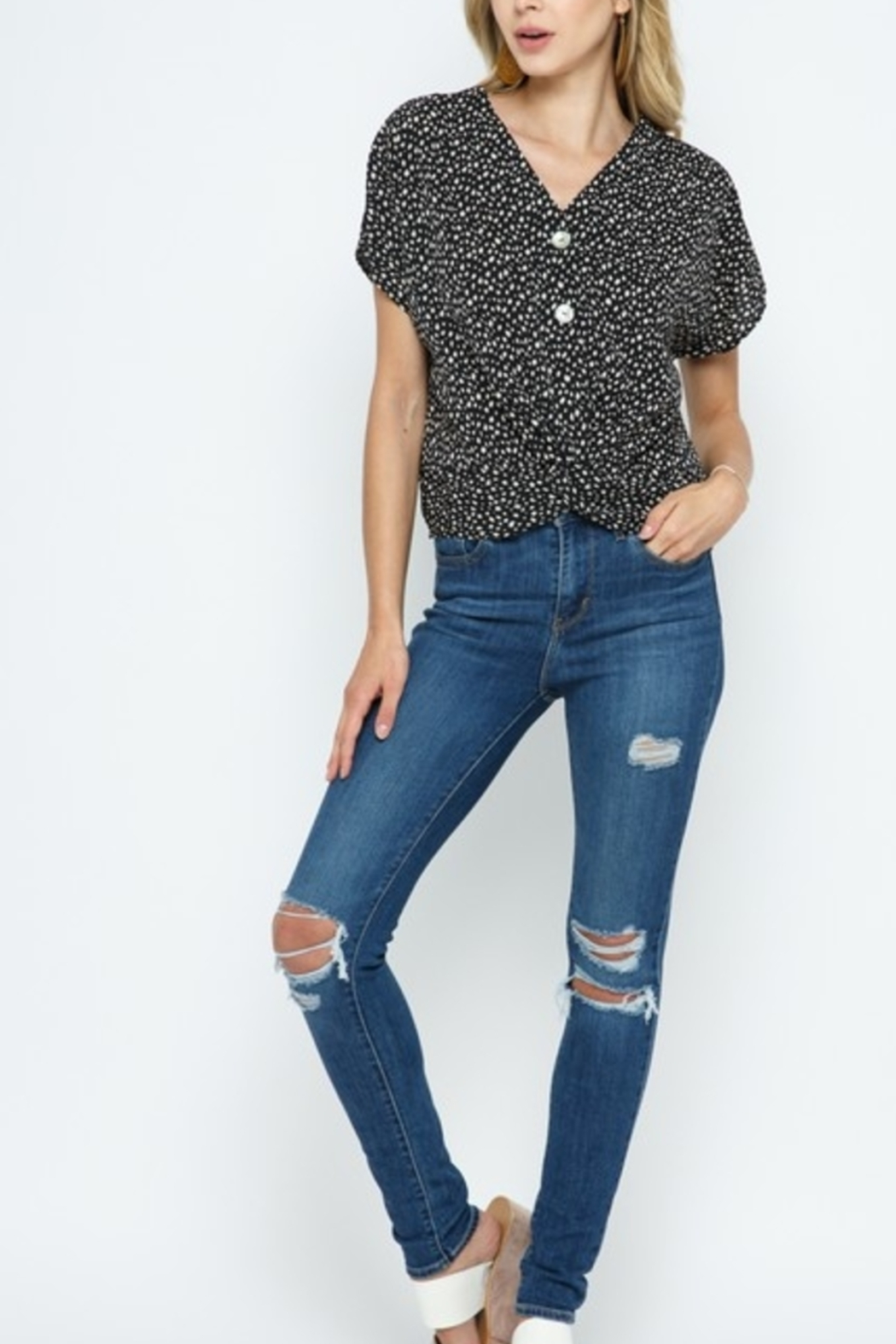 Cozy Casual  Always Stylish Top - Main Image