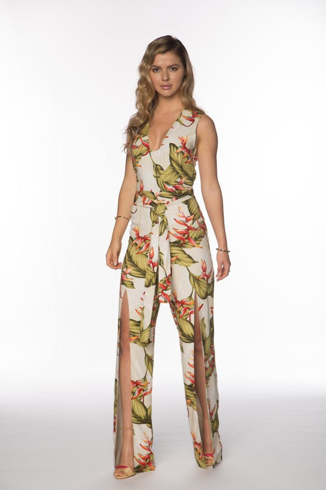 Always February Cyra Jumpsuit - Front Full Image