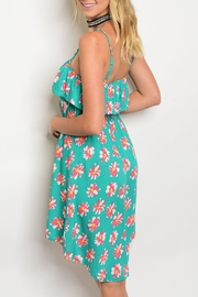 Always Me Jade Floral Dress - Front full body