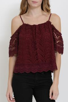 Shoptiques Product: Lace Crop Top