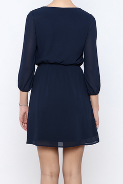 Alya Navy Dress - Alternate List Image