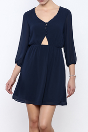 Alya Navy Dress - Product Mini Image