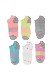 Stride Rite Alyssa Athletic Neon Performance Socks - Product Mini Image