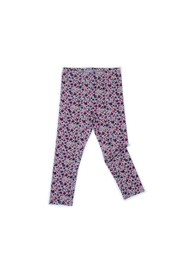 Egg  by Susan Lazar Alyssa Legging - Plum Floral - Front cropped