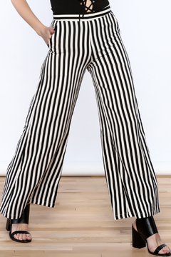 Shoptiques Product: High Waist Stripe Pants