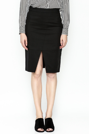 Alythea Black Pencil Skirt - Front full body