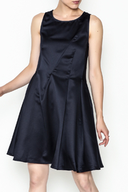 Alythea Satin Tie Back Dress - Front cropped