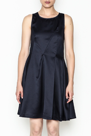 Alythea Satin Tie Back Dress - Front full body
