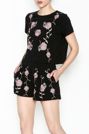 Alythea Floral Embroidered Top - Product Mini Image