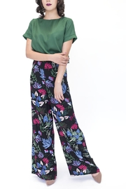 Alythea Floral Palazzo Pants - Front cropped