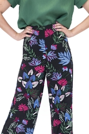Alythea Floral Palazzo Pants - Front full body