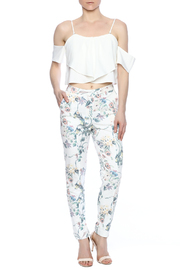 Alythea Floral Pants - Front full body