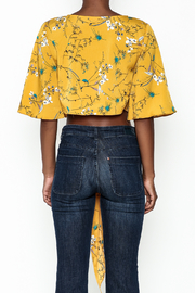 Alythea Floral Tie Top - Back cropped