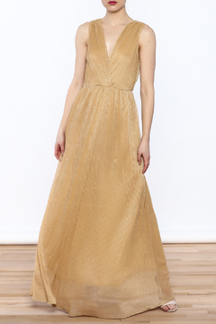 Alythea Gold Evening Dress - Product List Image