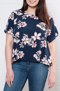 Alythea High Low Floral Top - Product List Image