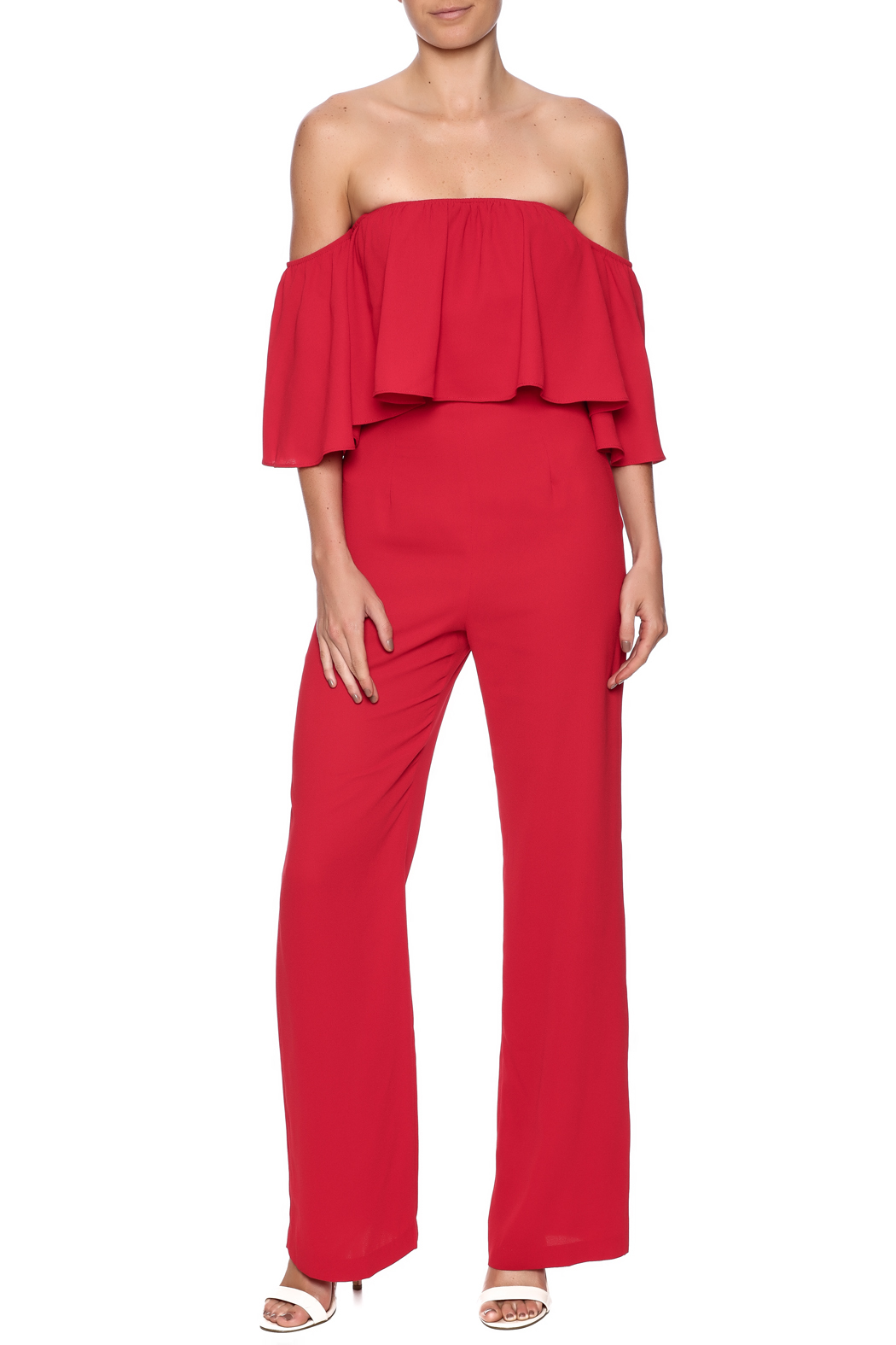 Alythea Red Jumpsuit from Manhattan by Dor L'Dor — Shoptiques