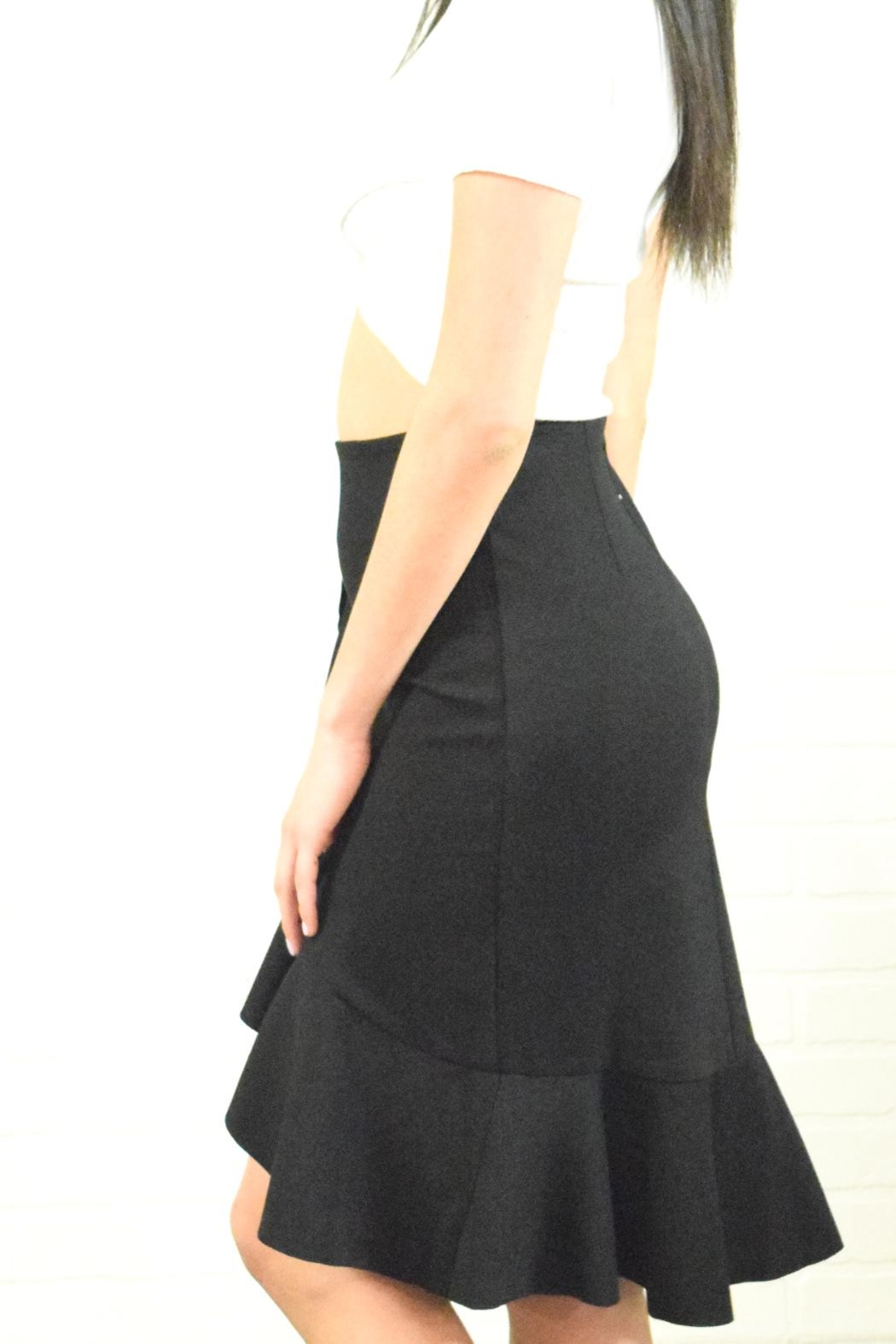 Alythea Ruffle Detail Skirt - Front Full Image