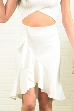 Alythea Ruffle Detail Skirt - Product List Image