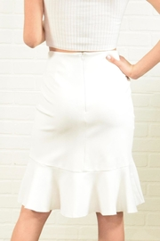 Alythea Ruffle Detail Skirt - Side cropped