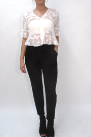Alythea Sheer Butterfly Top - Product Mini Image