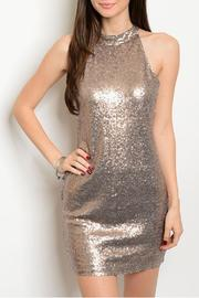 Alythea Sparkle Sleeveless Dress - Product Mini Image
