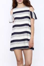 Alythea Nautical Stripe Dress - Product Mini Image