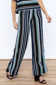 Shoptiques Product: Navy Stripe Pants