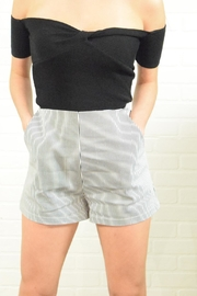 Alythea Stripe Shorts - Front cropped